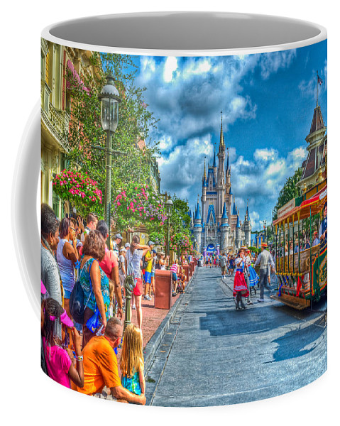 Walt Coffee Mug featuring the photograph Dancing In The Streets by Ryan Crane