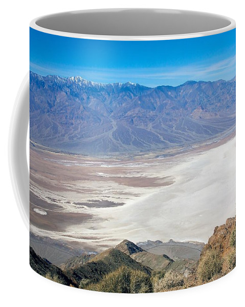 Death Valley Coffee Mug featuring the photograph Dante's View #3 by Stuart Litoff