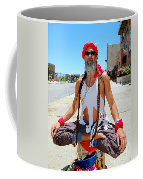 Coney Island Coffee Mug featuring the photograph Dare To Be Different by Ed Weidman