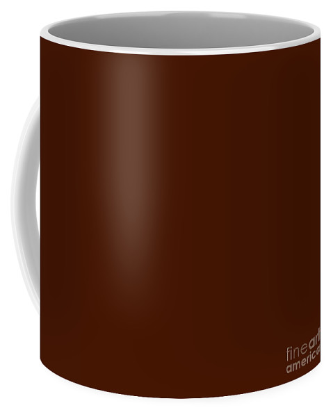 Andee Design Abstract Coffee Mug featuring the digital art Dark Chocolate by Andee Design
