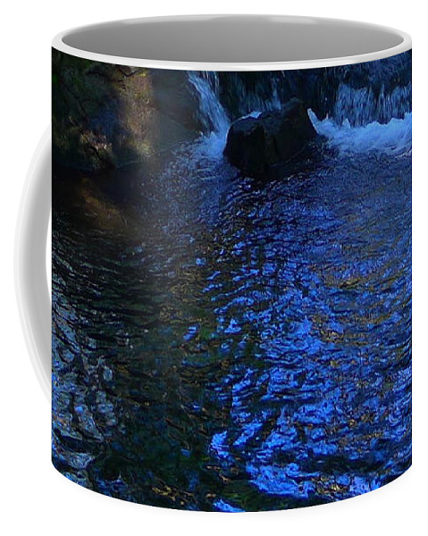 Water Coffee Mug featuring the photograph Dark Water by Denise Mazzocco