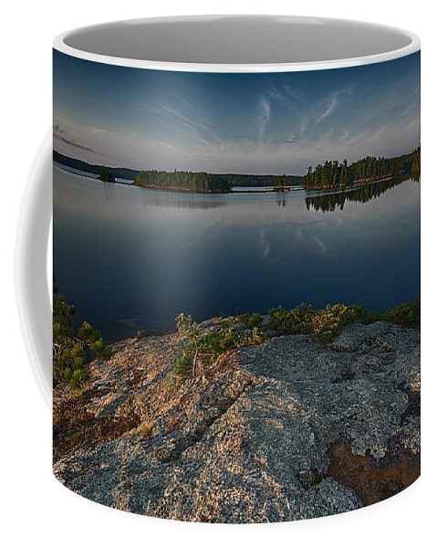 Scenic Coffee Mug featuring the photograph Darky Lake by Craig Voth