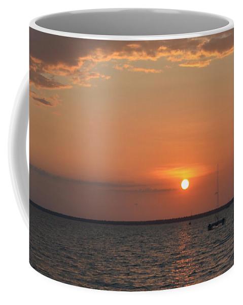 Darwin Coffee Mug featuring the photograph Fannie Bay Sunset 1.4 by Cheryl Miller