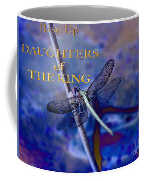 Daughters Of The King Photograph Coffee Mug featuring the photograph Daughters Of The King by Beverly Guilliams