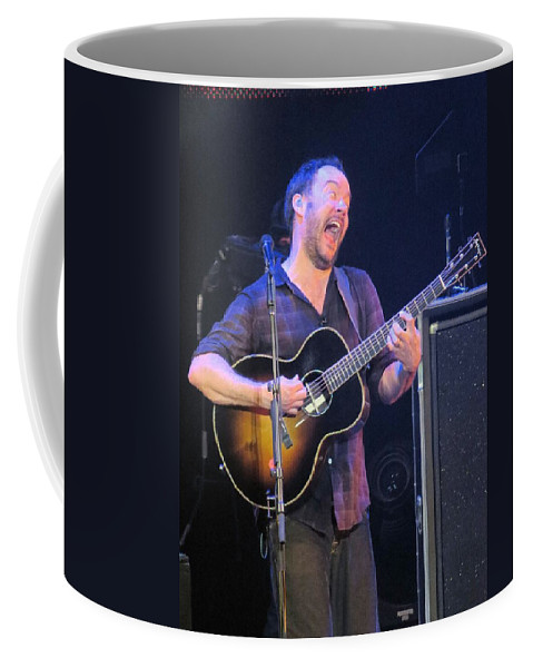 Davematthews Coffee Mug featuring the photograph Daves Crazy Face by Aaron Martens