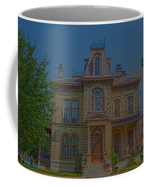 Bloomington Coffee Mug featuring the photograph Davis Supreme by Alan Look