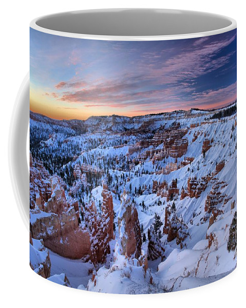 Bryce Canyon National Park Coffee Mug featuring the photograph Dawn At Bryce by Adam Jewell