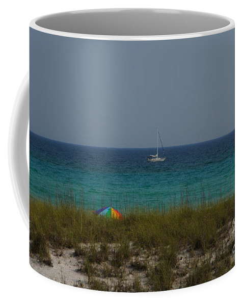 Landscape Coffee Mug featuring the photograph Day In Paradise by Megan Cohen