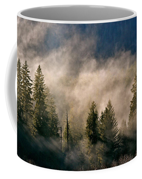 Pacific Northwest Coffee Mug featuring the photograph Daybreak by Jody Partin