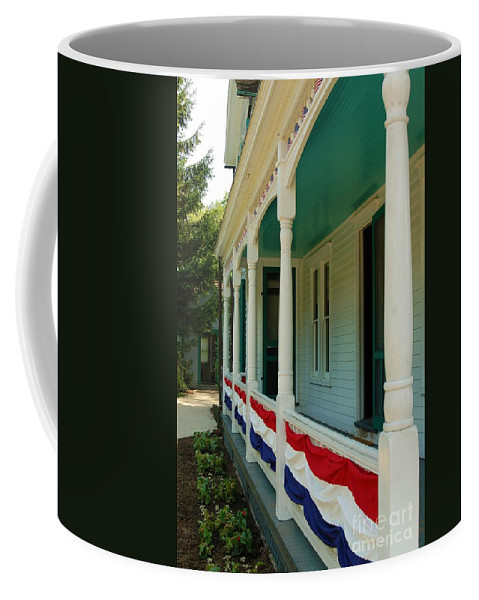 Front Porch Coffee Mug featuring the photograph Days Gone By by Patrick Shupert