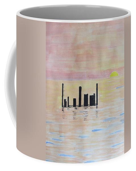 Sunrise Coffee Mug featuring the painting Dayspring by Sonali Gangane