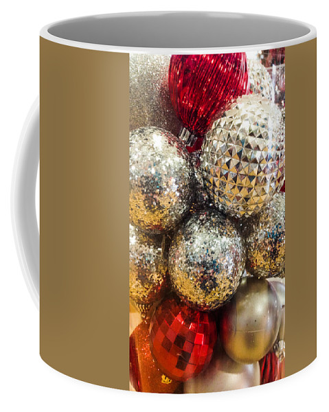 Optical Playground By Mp Ray Coffee Mug featuring the photograph Dazzling Christmas by Optical Playground By MP Ray