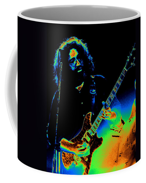 Grateful Dead Coffee Mug featuring the photograph Dead #20 With Cosmic Enhancement 1 by Ben Upham