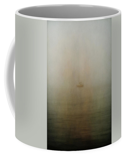 Ocean Coffee Mug featuring the photograph Dead Leaves And Wet Grounds by The Artist Project