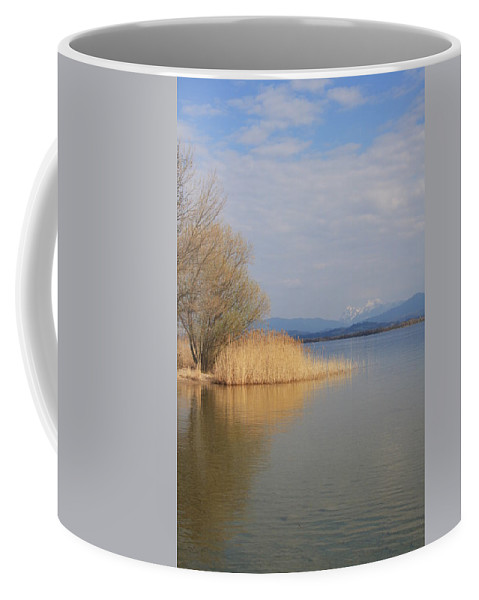 Water Coffee Mug featuring the photograph Dead Silence by Christiane Schulze Art And Photography