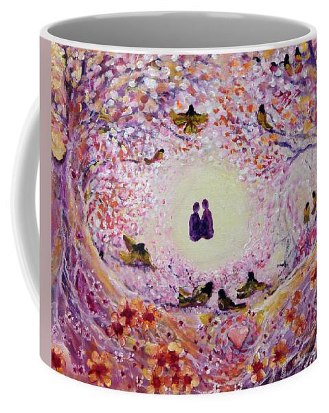 Magical Coffee Mug featuring the painting Dearest Friend by Ashleigh Dyan Bayer