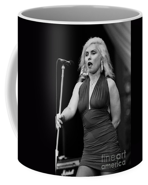 Liveconcert Appearance Coffee Mug featuring the photograph Deborah Harry by Concert Photos