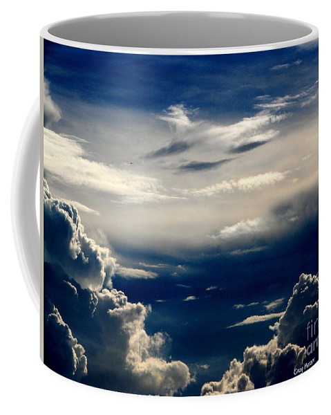 Art For The Wall...patzer Photography Coffee Mug featuring the photograph Deep Blue by Greg Patzer