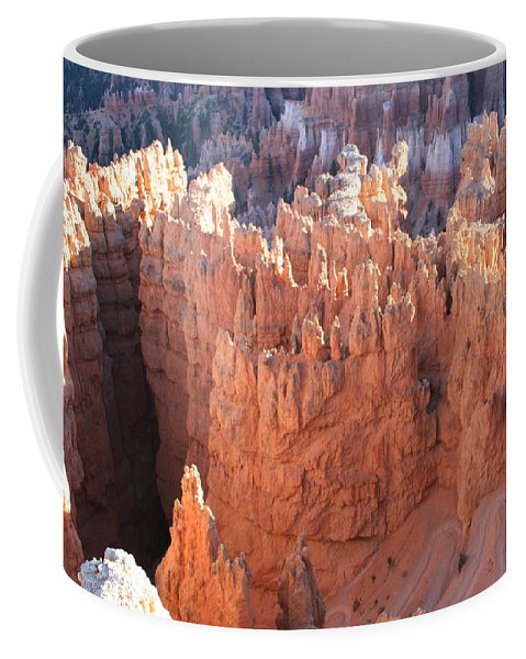 Canyon Coffee Mug featuring the photograph Deep Canyon - Bryce Np by Christiane Schulze Art And Photography