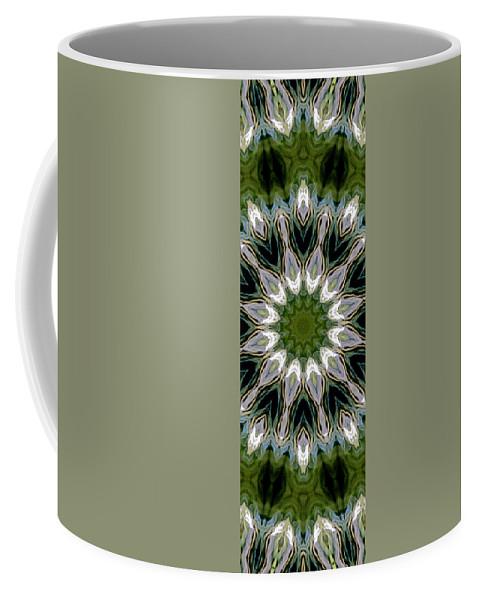 Mandala Coffee Mug featuring the photograph Delight 12 by Lisa Lipsett