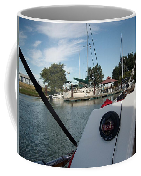 The Story Of Joe And Floyd Coffee Mug featuring the photograph Delta Friends by Joseph Coulombe