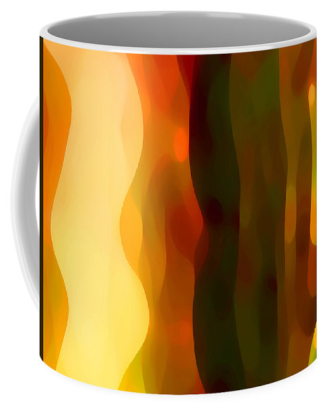 Bold Coffee Mug featuring the painting Desert Pattern 1 by Amy Vangsgard