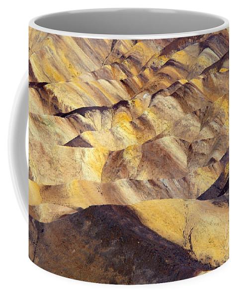 Zabriskie Point Coffee Mug featuring the photograph Desert Undulations by Mike Dawson