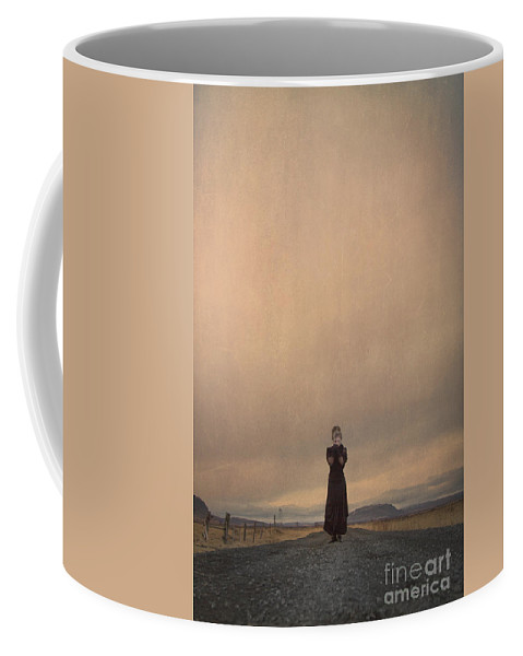 Woman Coffee Mug featuring the photograph Desolate Ever After by Evelina Kremsdorf