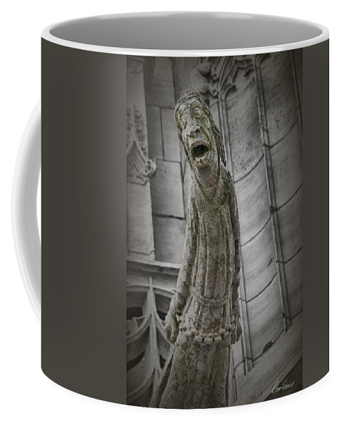 France Coffee Mug featuring the photograph Despair by Diana Haronis
