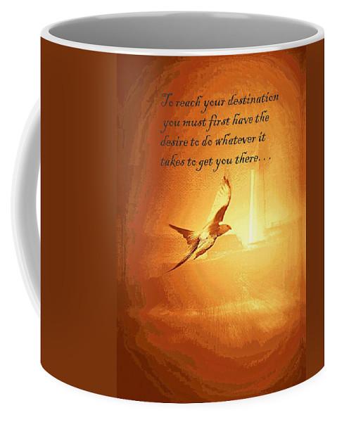 Destination And Desire Coffee Mug featuring the photograph Destination And Desire by Travis Truelove