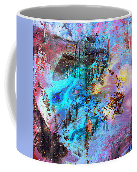 Destroyer Of Worlds Coffee Mug featuring the mixed media Destroyer Of Worlds by Dominic Piperata
