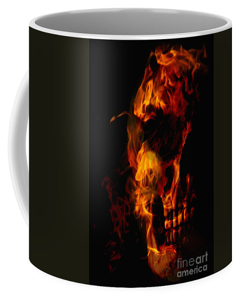 Devil Coffee Mug featuring the photograph Devil Within by Margie Hurwich