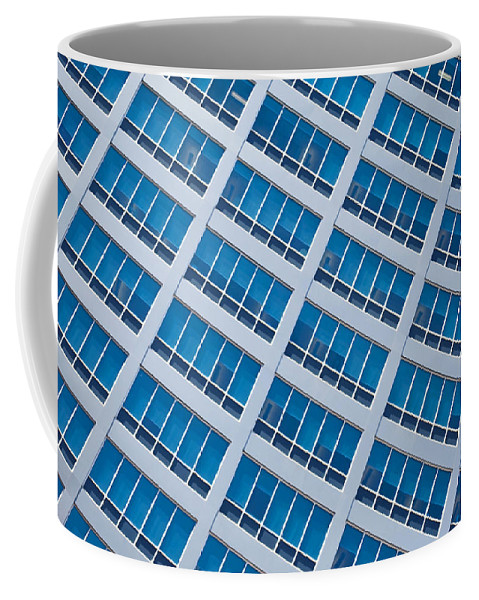 Window Coffee Mug featuring the photograph Diagonal View by Keith Armstrong