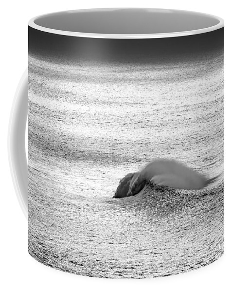 Diamonds At Sea Coffee Mug featuring the photograph Diamond Peak by Sean Davey
