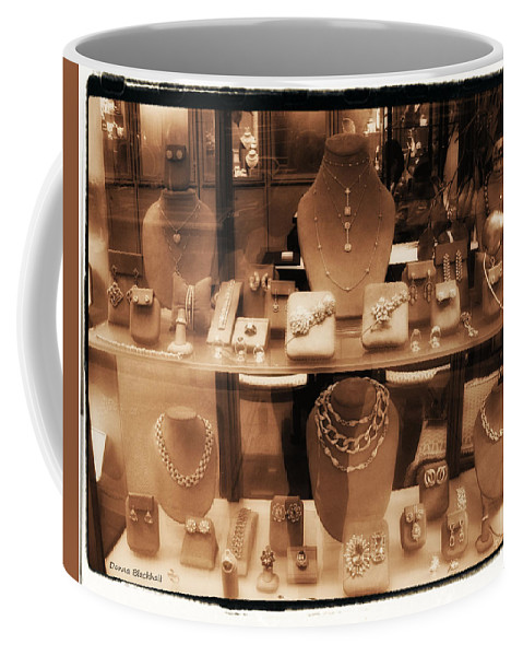 New York Coffee Mug featuring the photograph Diamonds Are Forever by Donna Blackhall