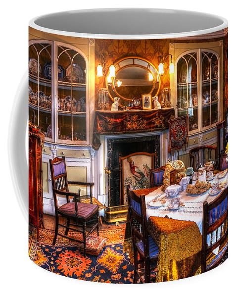 Beamish Coffee Mug featuring the photograph Dinning Room by Svetlana Sewell