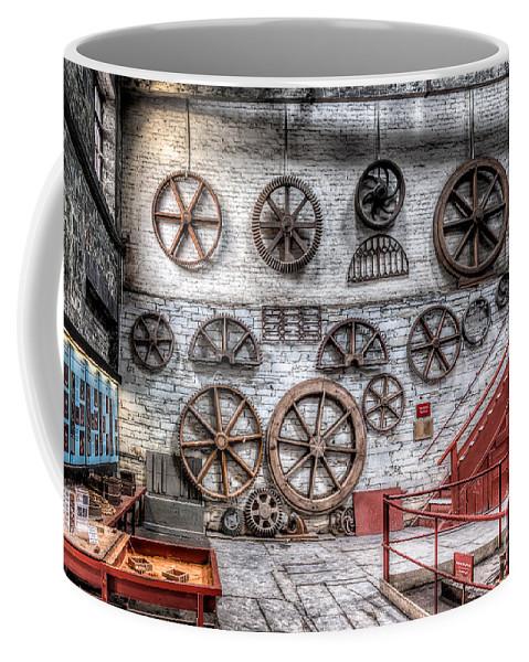 Dinorwig Quarry Coffee Mug featuring the photograph Dinorwig Quarry Workshop by Adrian Evans