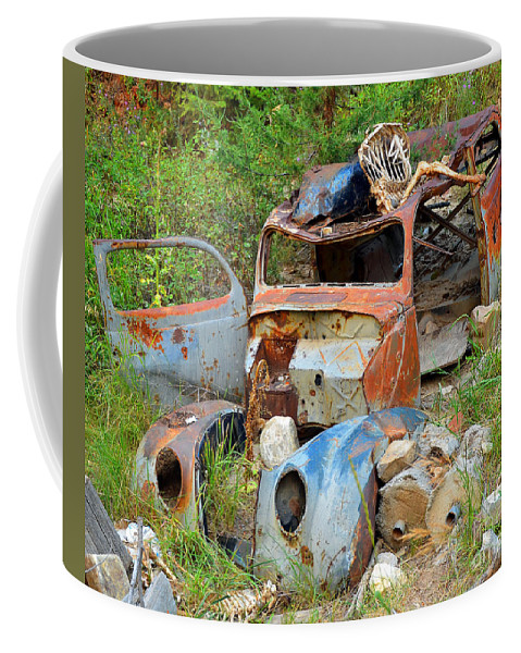 Abstract Coffee Mug featuring the photograph Disaster by Lauren Leigh Hunter Fine Art Photography