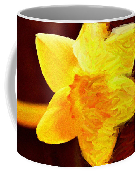 Bloom Coffee Mug featuring the painting Disintegration by Jeffrey Kolker