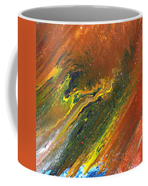 Fusionart Coffee Mug featuring the painting Distance by Ralph White