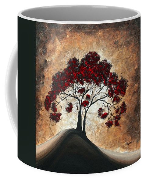 Wall Coffee Mug featuring the painting Divine Intervention II By Madart by Megan Duncanson