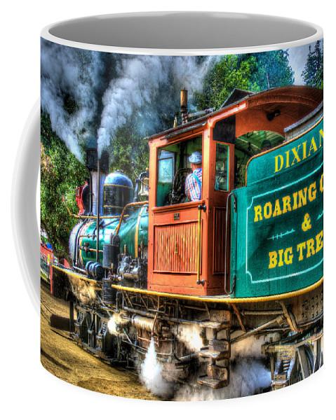 Dixiana Coffee Mug featuring the photograph Dixiana Engine 3 by Richard J Cassato