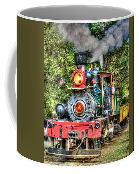 Dixiana Coffee Mug featuring the photograph Dixiana Engine by Richard J Cassato