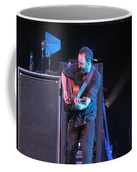 Music Coffee Mug featuring the photograph Dmb Rocks Atl by Aaron Martens