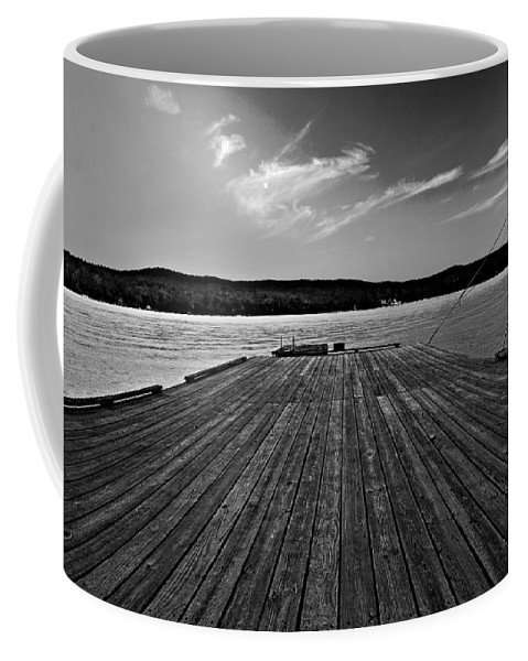 Dock Coffee Mug featuring the photograph Dock by Christopher Meade
