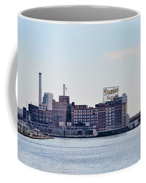 Domino Coffee Mug featuring the photograph Domino Sugars - Baltimore Maryland by Bill Cannon