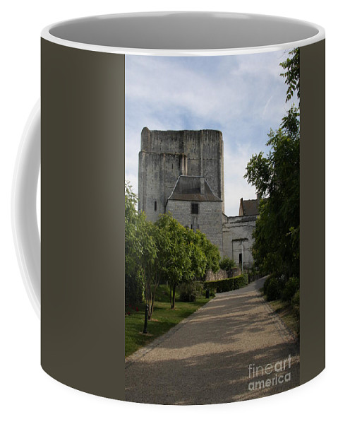 Donjon Coffee Mug featuring the photograph Donjon Loches - France by Christiane Schulze Art And Photography