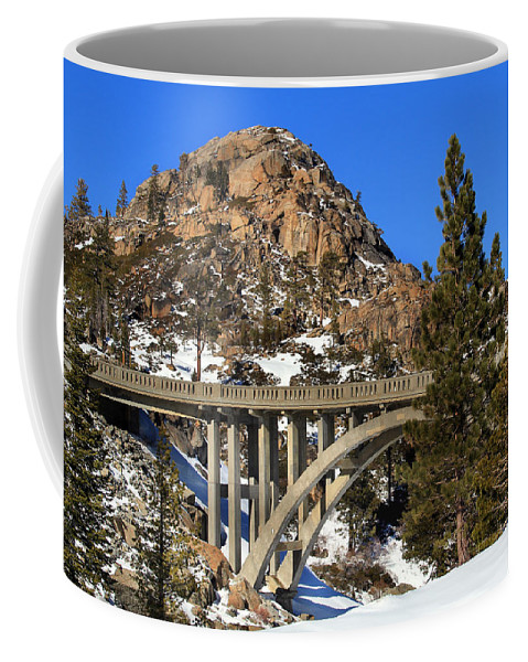 Donner Pass Coffee Mug featuring the photograph Donner Pass by Shawn McMillan