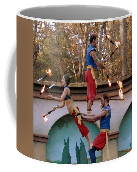 Fine Art Coffee Mug featuring the photograph Don't Try This At Home by Rodney Lee Williams