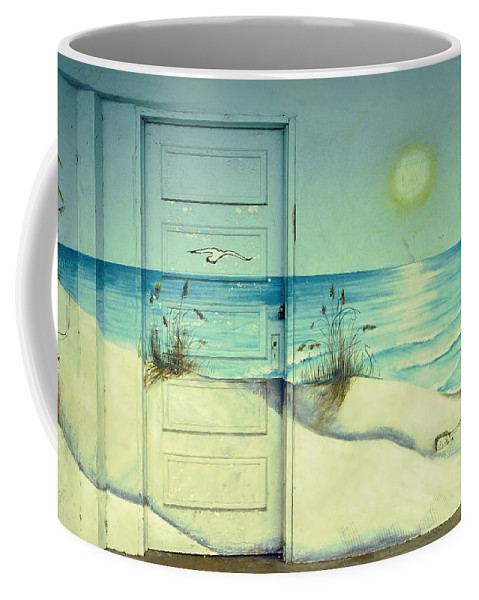 Architecture Coffee Mug featuring the photograph Door Of Perception by Skip Hunt